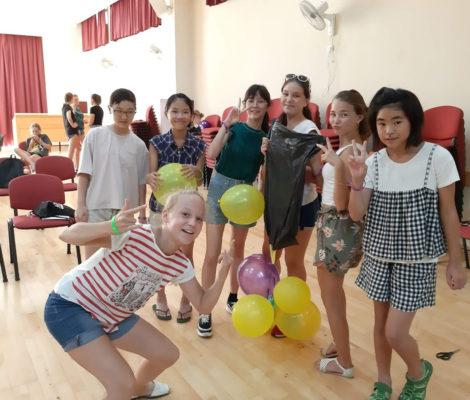 親子留学日記サマーキャンプ